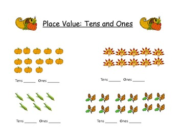 Thanksgiving Math, Writing, and Literacy Unit
