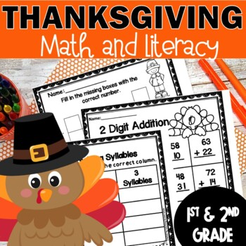 Thanksgiving Worksheets And Activities By Teaching Second Grade Tpt