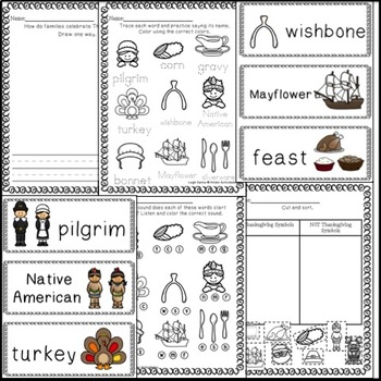 Thanksgiving Math and Literacy