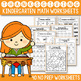 Thanksgiving Math and Literacy BUNDLE, Thanksgiving Activities For Kindergarten