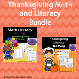 Thanksgiving Math and Literacy Bundle