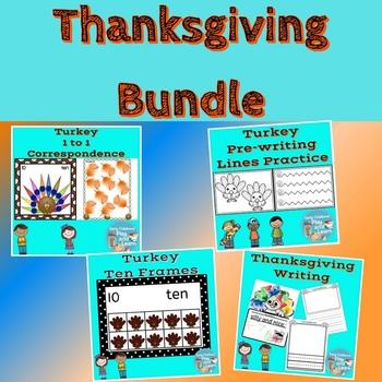 Thanksgiving Math and Literacy Bundle