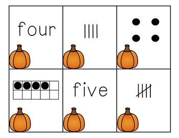 Thanksgiving Math and Literacy Centers for kindergarten