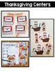 Thanksgiving Math and Literacy Centers {2nd Grade}