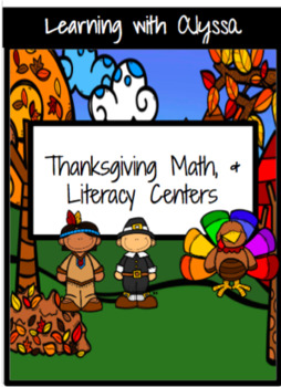 Thanksgiving Math and Literacy Centers