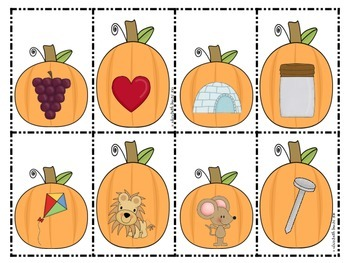 Thanksgiving Math and Literacy Centers for Pre-K, Kindergarten, & First Grade!