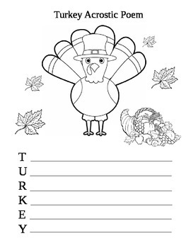 Thanksgiving Math and Literacy Pack!