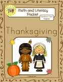 Thanksgiving Worksheets Emergent Reader Task Cards