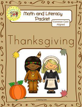 Thanksgiving Worksheets Emergent Reader Task Cards