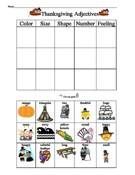 Thanksgiving Math and Literacy Packet