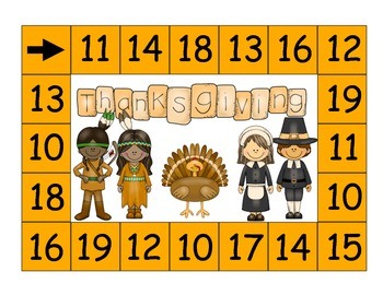 Thanksgiving Math and Literacy Stations