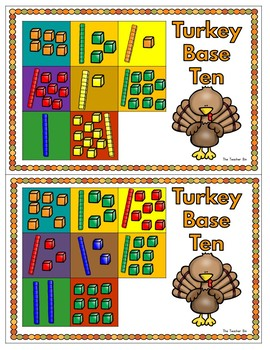 Kindergarten -1st -2nd grade -Special Education-Thanksgiving Math & Literacy