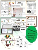 Thanksgiving Math and Reading Activities for First - Third Grade