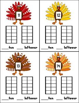 Thanksgiving Math for Kindergartners