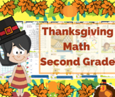 Thanksgiving Math for Second Grade / 2nd Grade - Math Games - Math Centers