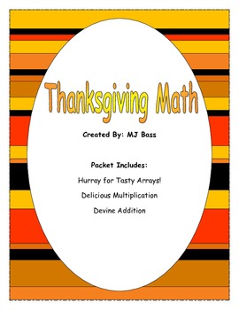 Thanksgiving Math for Upper Elementary