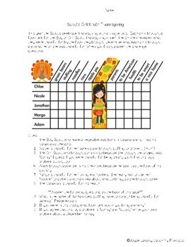 Thanksgiving Logic Puzzle For Fourth