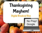 Thanksgiving Mayhem Digital Breakout Box