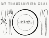 Thanksgiving Meal / Placemats