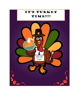 Thanksgiving Meal Planner/Addition/Subtraction/Multiplication Review