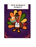 Thanksgiving Meal Planner/Addition/Subtraction/Multiplicat