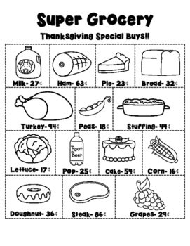 Thanksgiving Meal Planning A
