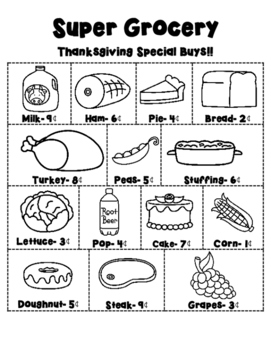Thanksgiving Meal Planning C