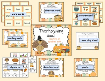 Feasting on Syllables - A Thanksgiving Meal