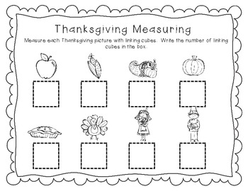 Thanksgiving Measurement Freebie!
