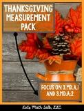 Thanksgiving Measurement Pack!