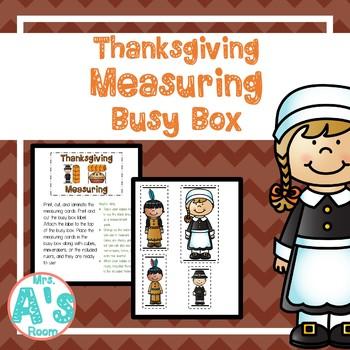 Thanksgiving Measuring Busy Box