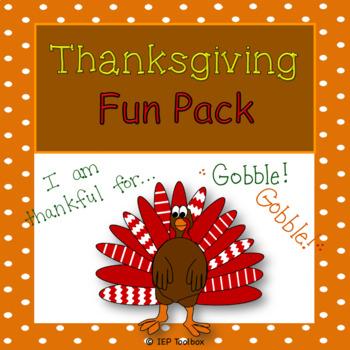 Thanksgiving Mega Fun Pack