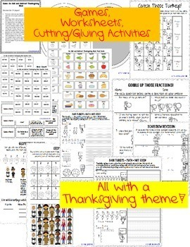 Thanksgiving Math FREEBIE!