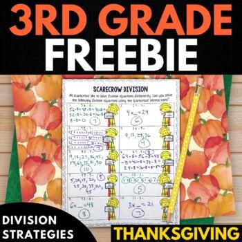 Thanksgiving Math FREEBIE!