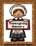Thanksgiving Memory & Go-Fish Game Cards!  Great Center or