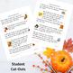 Thanksgiving Memory Verse Copy Work - Manuscript Version