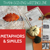 Thanksgiving Metaphors and Similes
