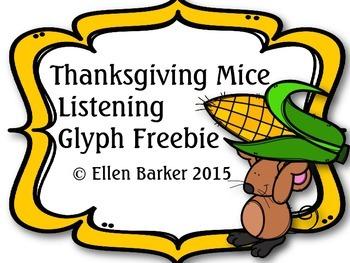 Thanksgiving Mice Listening Glyphs