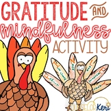 Thanksgiving Fall Mindfulness Exercise and Thanksgiving Gratitude Craft