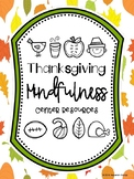Thanksgiving Mindfulness Resources