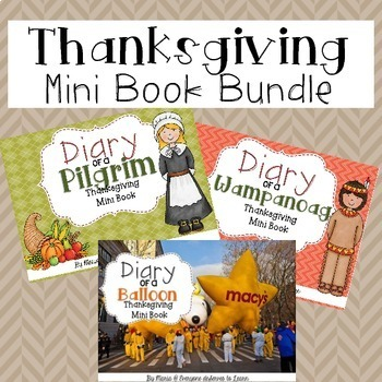 Thanksgiving Fiction Comprehension Bundle