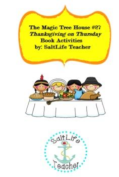 Thanksgiving Mini Book- Magic Tree House Thanksgiving