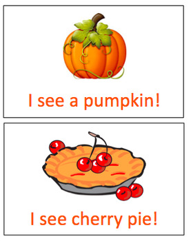 Thanksgiving Mini Book (PECS symbols included)