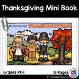 Thanksgiving Mini Book for Early Readers