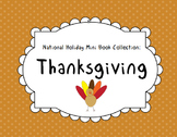 Thanksgiving Mini Book