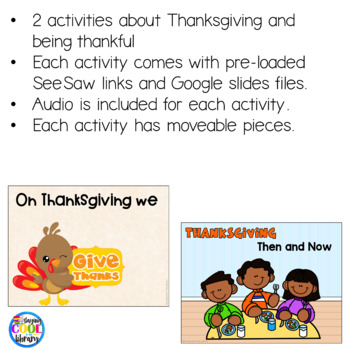 Thanksgiving Mini Books