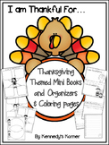 Thanksgiving Mini Books, Stationary and Organizers