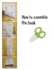 Thanksgiving Mini Emergent Readers- Double Sided Printing- Easy Assembly