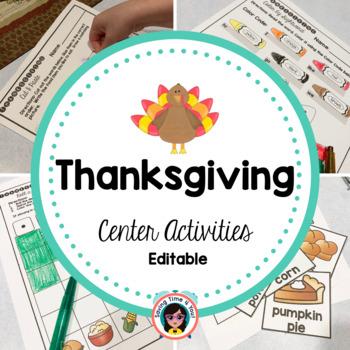 Thanksgiving Mini-Packet
