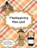 Thanksgiving Mini-Unit for Kinders